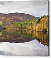 Loch Faskally Autumn Acrylic Print