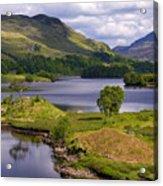 Loch Katrine And Ben Venue Acrylic Print