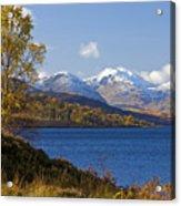 Loch Katrine And The Arrochar Alps Acrylic Print