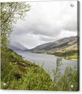 Loch Levern Acrylic Print