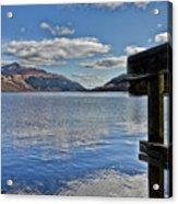 Loch Lomond And The Ben Acrylic Print