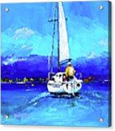 Loch Lomond Sail Acrylic Print