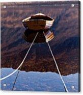 Loch Maree Boat Acrylic Print