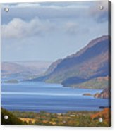 Loch Maree In The Highlands Of Scotland Acrylic Print