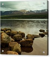 Loch Morlich And The Cairn Gorms Acrylic Print