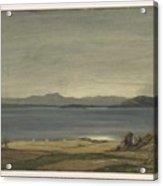 Loch Nell, 1930-1935, By Sir David Cameron 2 Acrylic Print