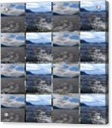 Loch Ness In Squares Acrylic Print