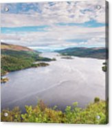Loch Riddon And Isle Of Bute Acrylic Print