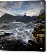 Loch Scavaig And The Cuillin Acrylic Print
