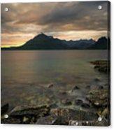 Loch Scavaig Stones Acrylic Print