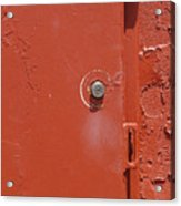 Lock Box Acrylic Print