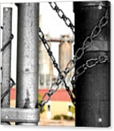 Locked In Acrylic Print