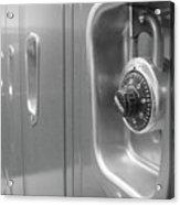 Locked Locker Acrylic Print