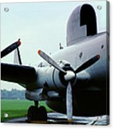 Lockheed Ec-121d Warning Star, Early Warning Aircraft Acrylic Print
