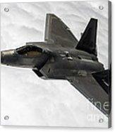 Lockheed Martin F-22 Raptor, 2015 Acrylic Print
