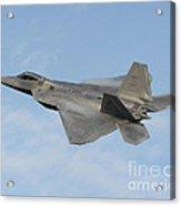 Lockheed Martin F-22 Raptor, 2016 Acrylic Print