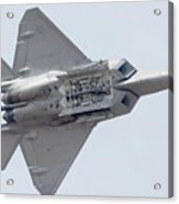 Lockheed Martin F-22a Raptor 05-4098 Luke Afb Arizona March 19 2011 Acrylic Print