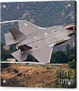 Lockheed Martin F-35 Lightning II, 2015 Acrylic Print