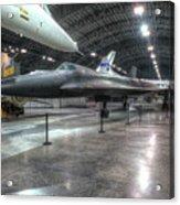 Lockheed Yf-12a Acrylic Print