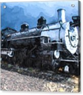 Locomotive 495 A Romantic View Acrylic Print