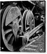 Locomotive Acrylic Print by Joe Bonita