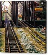 Locomotive Tracks Acrylic Print