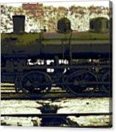 Locomotive Vector Acrylic Print