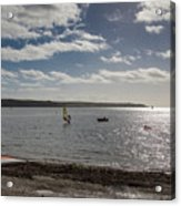 Loe Beach Windsurfers Acrylic Print