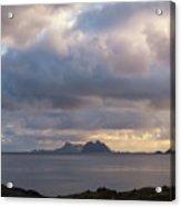 Lofoten Sunset 4 Acrylic Print