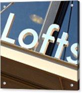 Lofts Acrylic Print