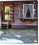 Log Cabin 1 Acrylic Print