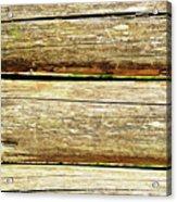 Log Files Acrylic Print