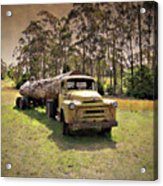 Log Mover Acrylic Print