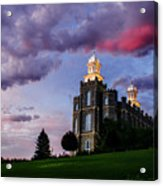 Logan Temple Heaven's Light Acrylic Print