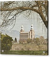 Logan Temple  Acrylic Print