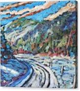 Loggers Road  Acrylic Print