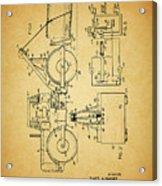 Logging Truck Patent Acrylic Print
