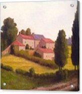 Loire Valley Apres Midi Acrylic Print