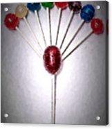 Lollipop Balloons  Acrylic Print