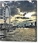 London A View From A Bridge  Acrylic Print