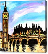 London After Eight Acrylic Print