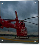 London Air Ambulance Acrylic Print