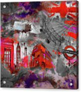 London Art 56 Acrylic Print
