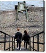 London Beach Acrylic Print