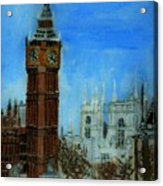London Big Ben Clock  Acrylic Print