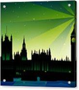 London Big Ben Acrylic Print by Sandra Hoefer