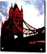 London Bridge No 3 Acrylic Print