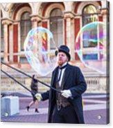 London Bubbles 4 Acrylic Print