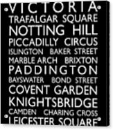 London Bus Roll Acrylic Print by Michael Tompsett
