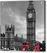 London Buses Acrylic Print